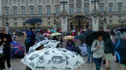 Buckingham Palace 02 Stock Video Footage