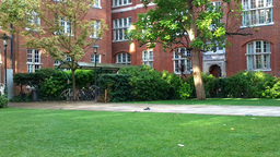 Campus in London Stock Video Footage