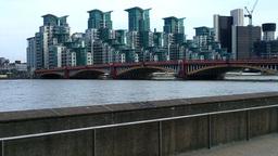 Industrial Area London England 02 Stock Video Footage