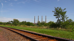 Industrial View 03 railway Footage