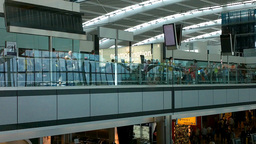 London Heathrow Airport Terminal 5 01 Stock Video Footage