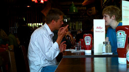 London Pub Restaurant Stock Video Footage