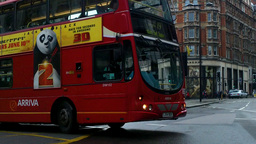 London Street 06 Stock Video Footage