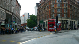 London Street 06 Stock Video Footage