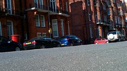 London Street 15 lowangle Stock Video Footage