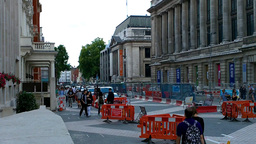 London Street Under Construction 03 Stock Video Footage