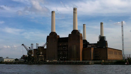 Old Factory in England London 01 Stock Video Footage