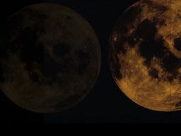 Random Moon Footage
