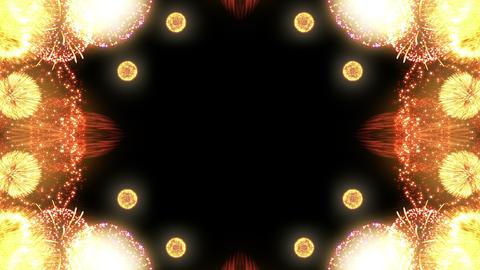 Fireworks Kaleidoscope Fm 1 4k Animation