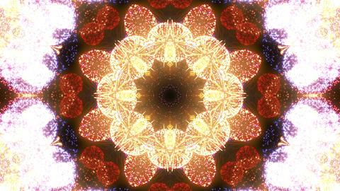 Fireworks Kaleidoscope Fm 1p 4k Animation