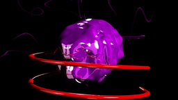 Purple Gem VBHD0037 stock footage