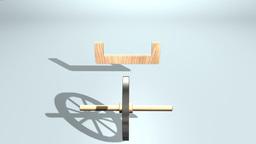 Wheel Cart VBHD0232 Footage