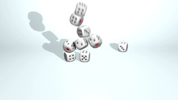 3D Dice VBHD0252 stock footage