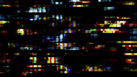 TV Noise Video Background 1504 Footage