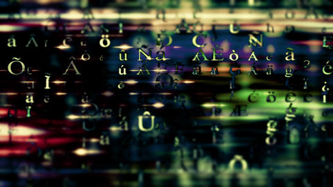 Streaming Data Video Background 1510 stock footage
