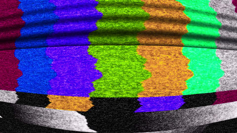 TV Color Bars Video Background 1517 Footage