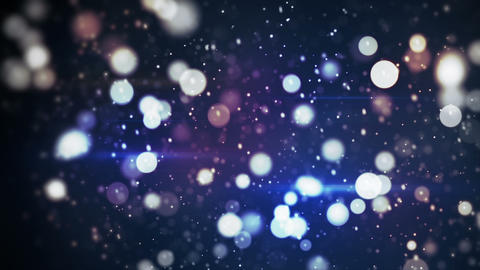 Glitter Bokeh Flying Festive Loopable Abstract Bak stock footage