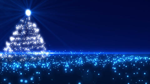 Blue Christmas tree 1 Animation