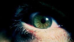 Eye sick green monster Footage