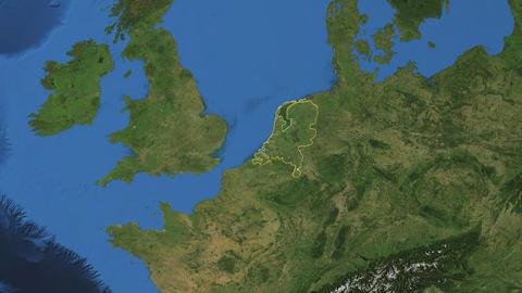 NETHERLANDS. Zoom in on NETHERLANDS Animation