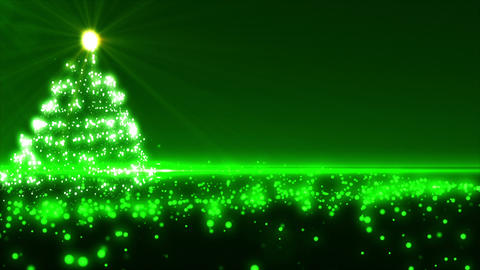 Green Christmas Tree Animation