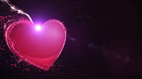 Light hearts 1 Animation