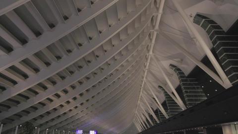 medium angle - International arrival hall - Taoyua Footage