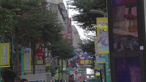 Ximen - main street on a sunny day - close day Live Action