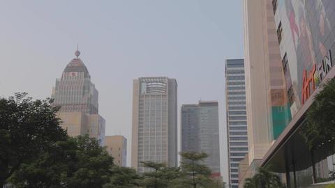 Att4fun building - farglory financial center Footage
