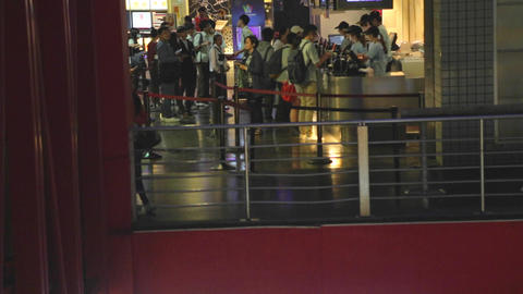 Xinyi - people at movie theater Footage