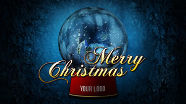 Christmas Snow Globe After Effects Template
