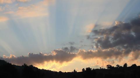 Splendid Sunrise stock footage