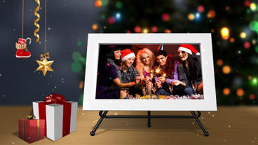 Christmas Slideshow stock footage