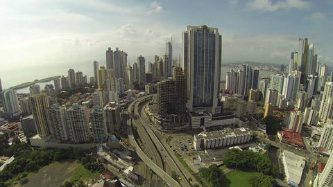 Panama City, Panama - NOV 4: Stunning view of the  Footage