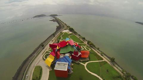 PANAMA CITY PANAMA NOVEMBER 5: Aerial view of Fran Footage