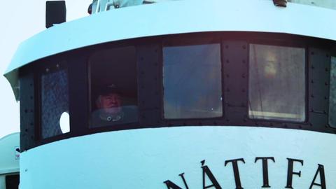 Fishing boat cabin Footage