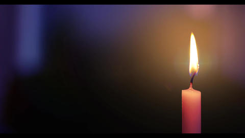 Candle Flame 4K Animation