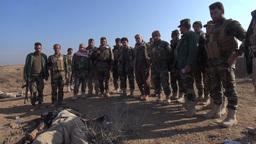 The Battle Of Al-Rabeea stock footage