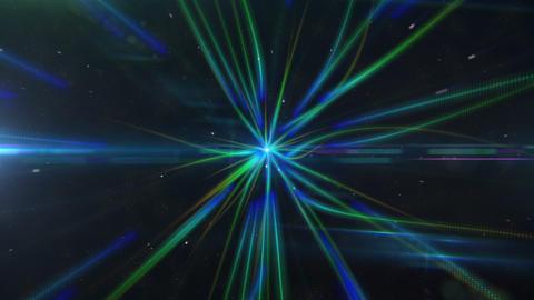 Space Flight Lights Animation