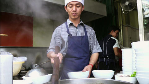 Street Restaurant In Phnom Penh Cambodia With Asia stock footage