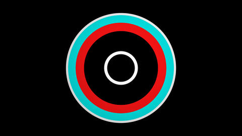 color circle line Animation