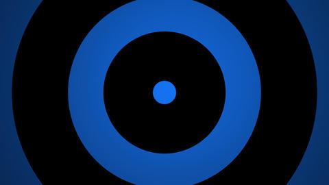 blue circle pulse Animation