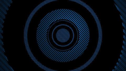 blue cross line Animation