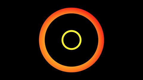 orange lights rotation Animation