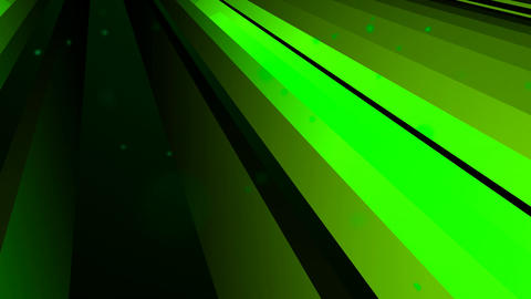 solid green slant Animation
