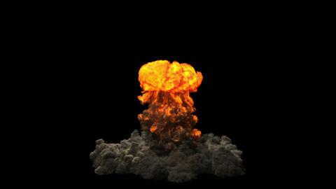 Nuke - Nuclear bomb in 4K Stock Video Footage