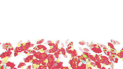 Japanese Folding fan A 1 4k Animation