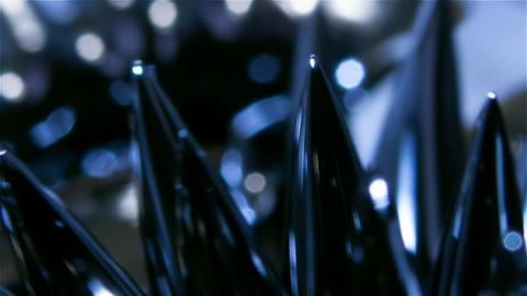 Ferromagnetic liquid Footage