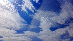 Sunny Day. Clouds Blurred stock footage