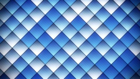 geometric pattern of blue squares loop Animation